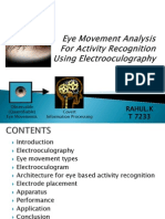 eye movement analysis(recognition)