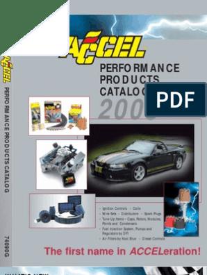 ACCEL 120405 Distributor Cap
