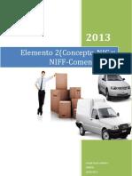 Elemento 2(Concepto-NIC y NIFF-Comentarios)