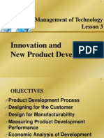 Management of Technology - 3 NPD