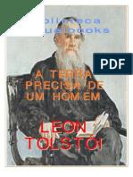 A Terra de que um homem precisa, Tolstoi