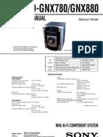 Diagrama de Modular Sony HCD-GNX880