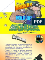 Robbery and Hold-Up Countermeasures