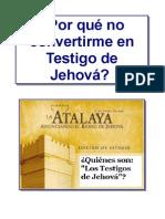 """¿Quiénes son """"Los Testigos de Jehová""""?"""
