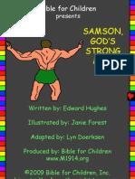 Samson Gods Strong Man Bible Israel