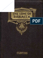 Curtiss FH and HA the Love of Rabiacca 1st Edition