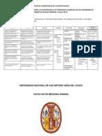 PROTOCOLO-Habitos de Estudio y Autoeficacia en El Rendimiento Academico de Los Estudiantes de Medicina Humana de La UNSAAC, 2012