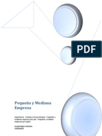 Pequeña y Mediana Empresa