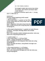 Analisis Data Kategorik
