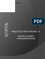 Metodologia Instlaciones Hidraulicas Hospital
