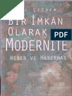bir imkan olarak modernite.PDF
