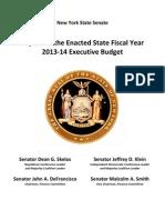 2013-2014 Enacted Budget Fact Sheet