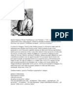 Quintus Septimius Florens Tertullianus Pe Scurt Tertulian