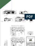 PHE- Plan et façades projet Batiment A-Juillet 09