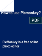 How to Use PicMonkey, a sample tutorial