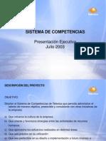 Competencias - Presentación ejecutiva de Memo 080803