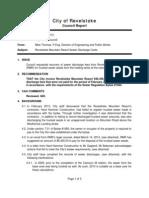 City of Revelstoke/Revelstoke Mountain Resort Sewer Report 03-26-13