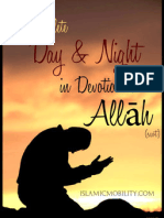 A Complete Day & Night in Devotion to Allah - Islamic Mobility - XKP