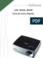 InFocus IN2102 IN2104 IN2106 QuickStartGuide Es