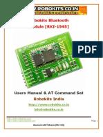 Bluetooth UART Module 1545 Robokits
