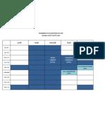 Planning CDI Semaine 13