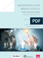 Maintaining Your Brand Voice in the Social Era