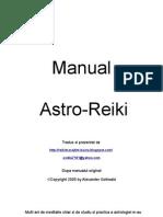 Astro Reiki - Manual Romana