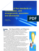 Package of Five Standards