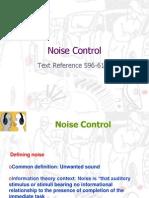 Noise Control 2007