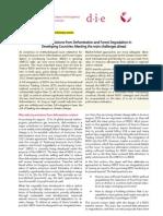 REDD Policy Approaches Briefing Paper German Development Institute[1]