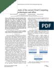 Comparitive Study of Various Cloud Computing Techniques