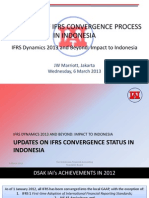Overview of Ifrs Convergence Process in Indonesia