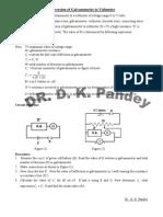 Galvanometer to Voltmeter