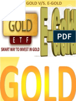 ETF GOLD VS E-GOLD