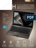 ASUS A44H DS Notebook