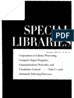 Special Libraries 65 (10)