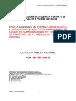 Bases TV1 CD. Obregon