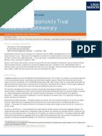 Legg Mason Funds Opportunity Trust Commentary