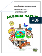 Optional Integrat Armonia Naturii