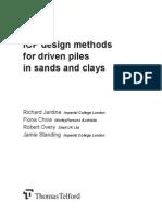 ICP Design Methods of Pile