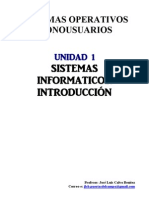 UT01 Sistemas Informaticos - Introduccion