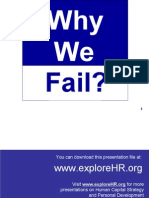 Why We Fail in Life???