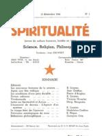 Spiritualité n° 1 (Décembre 1944)