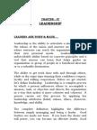 Chapter 4 Leadership