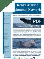 The Kenya Marine Mammal Network Newsletter_Issue 2