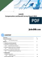 Jobsdb Compensation and Benefit Survey 2013