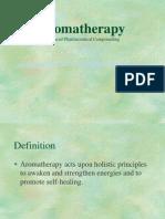 Kuliah 2, aromatheraphy
