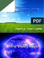 Water Treatment Using UV Rays