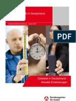 Zeitarbeit in Deutschland 2013
