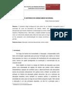 Breve Historico Do Ensino Medio No Brasil
